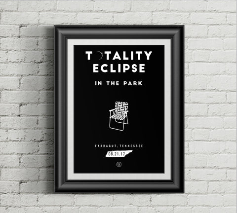 The Totality in the Park Poster