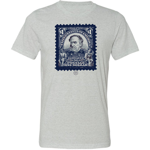 The Admiral Farragut Stamp Tee