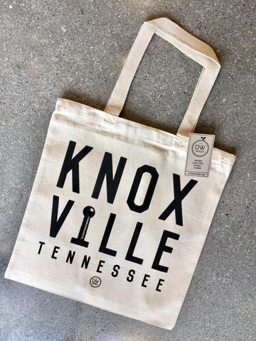 The Knoxville Stacked Canvas Tote