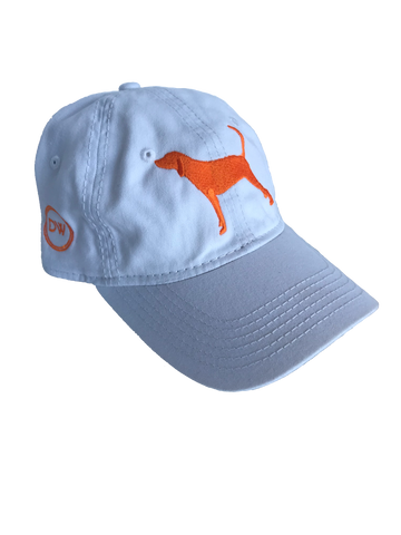 The Hound Dog Hat - White