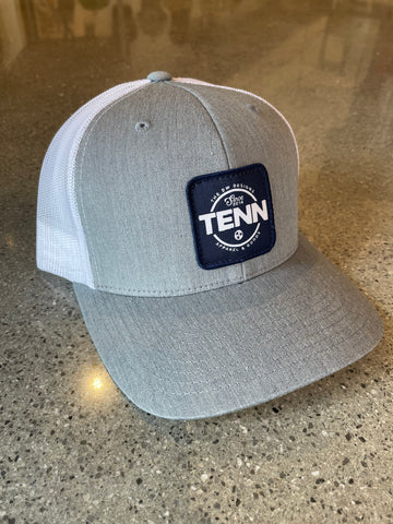 The DW TENN Patch Trucker Hat - Grey
