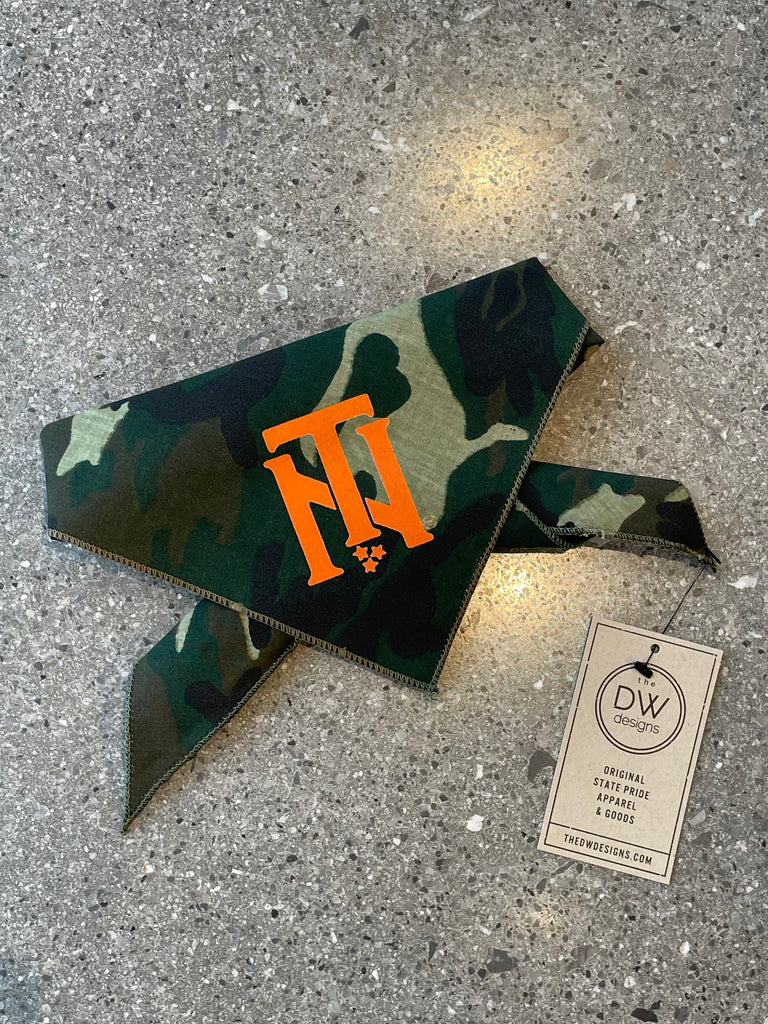 The TN Interlock Pet Bandana - Camo