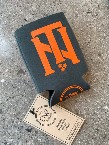The TN Interlock Koozie - Charcoal