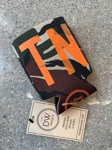 The TN Camo Koozie