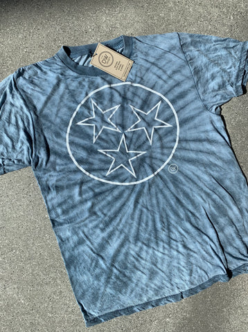 The Tristar Outline Tie-Dyed Tee