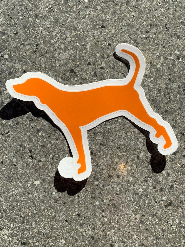 The Hound Dog Sticker