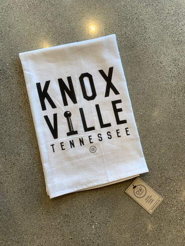 The Knoxville Stacked Tea Towel (28 x 29)