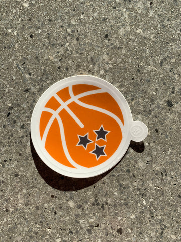 The Tristar Basketball Sticker