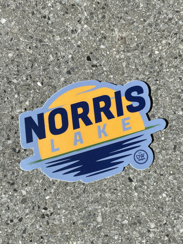 The Norris Lake Sticker