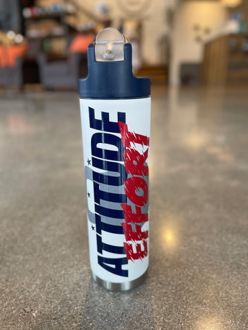 The Attitude + Effort 22oz Bottle
