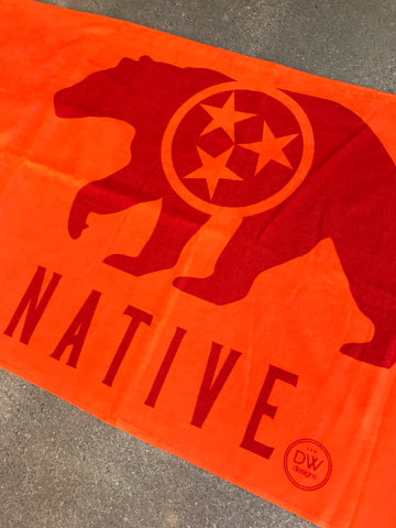 The Native Bear Towel