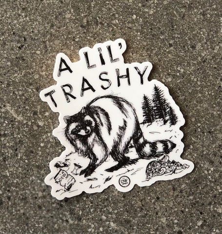 The Lil' Trashy Sticker
