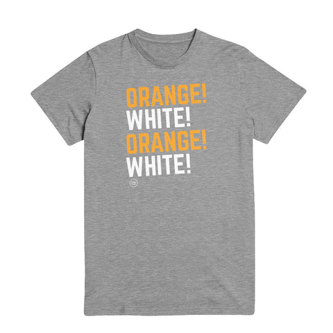 The Orange! White! Tee