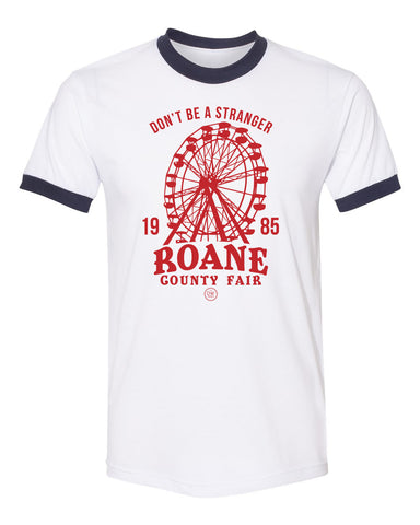 The Roane County Fair Ringer Tee