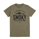 The Smoky Mountain Tee - Green
