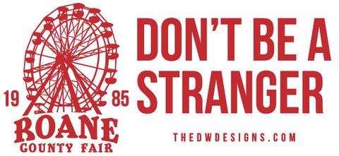 The Roane County Fair Bumper Sticker