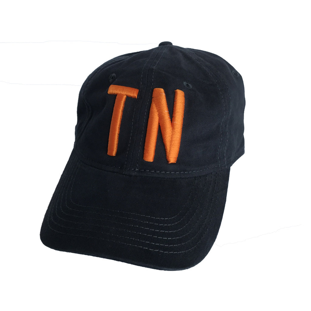 The TN Navy Hat - Orange