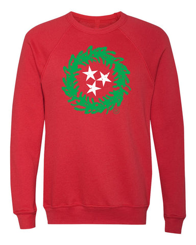 The TN Christmas Wreath Sweatshirt