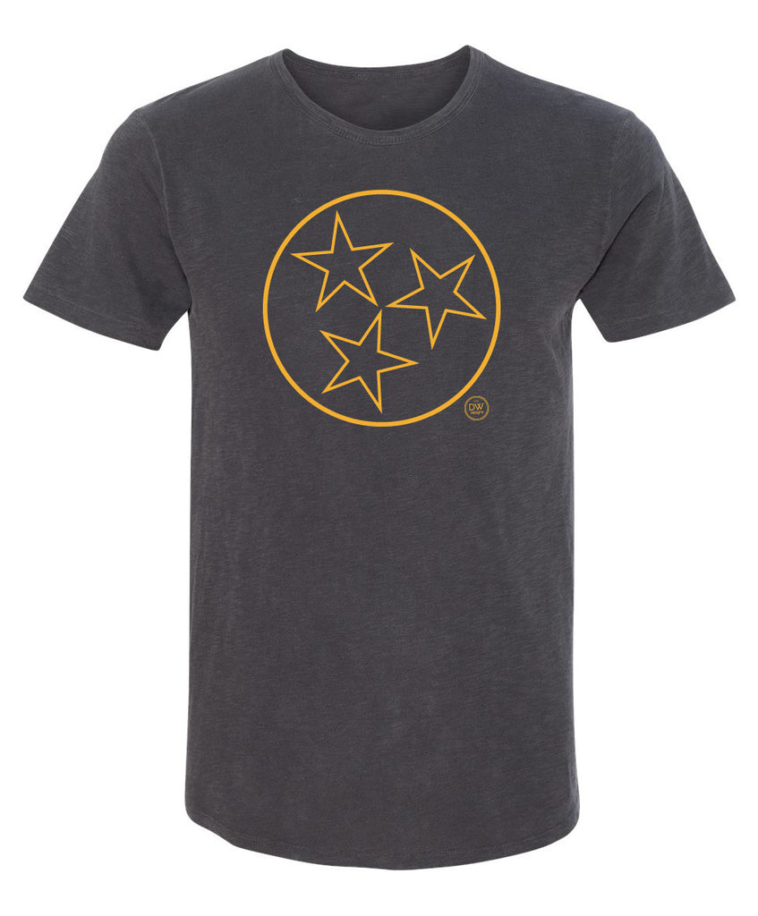 The Tristar Outline Rounded Hem Tee