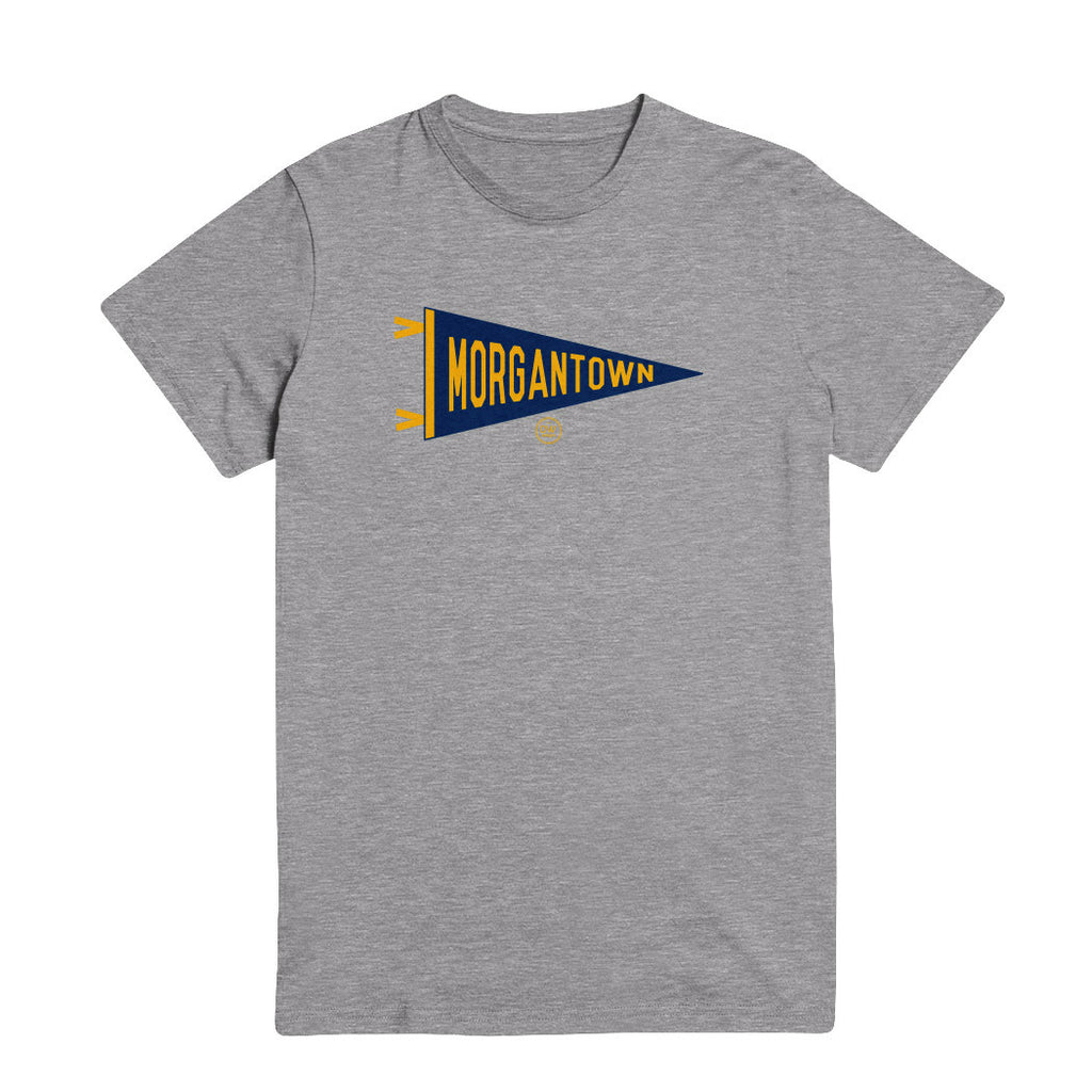 The Pennant Tee - Morgantown