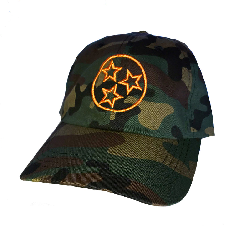The Tristar Outline Hat - Camo