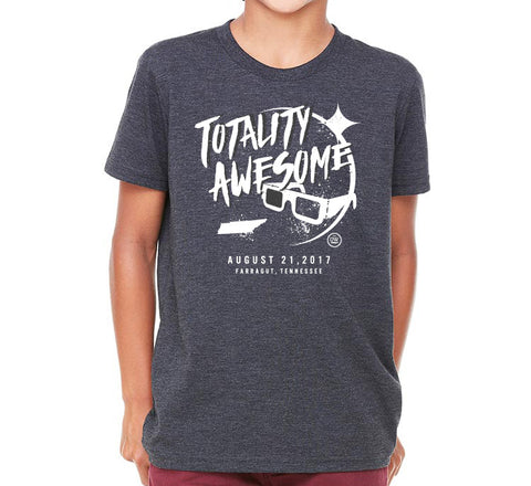 The Totality Awesome TN Eclipse Kids Tee