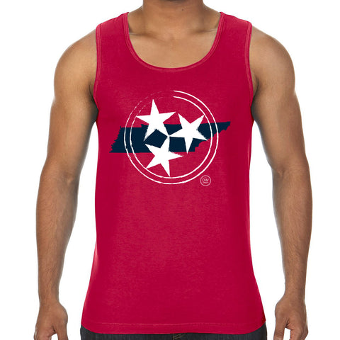 The Red Tristar State Tank