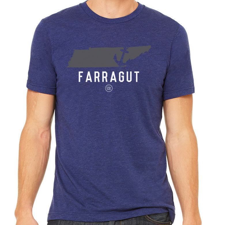 The Farragut Anchor State Tee