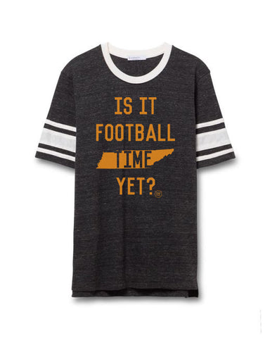 The Football Time Throwback Tee