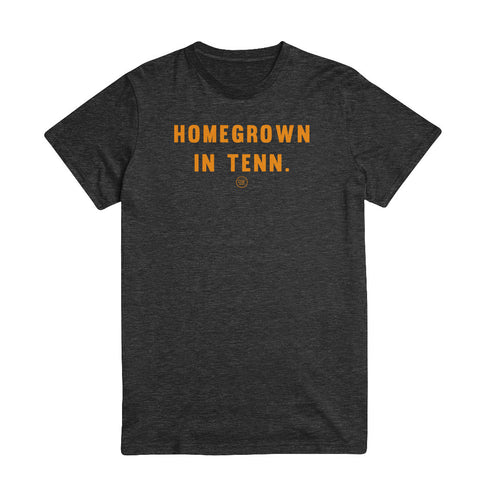The Homegrown Tee - Charcoal