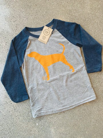 The Hound Kids Raglan
