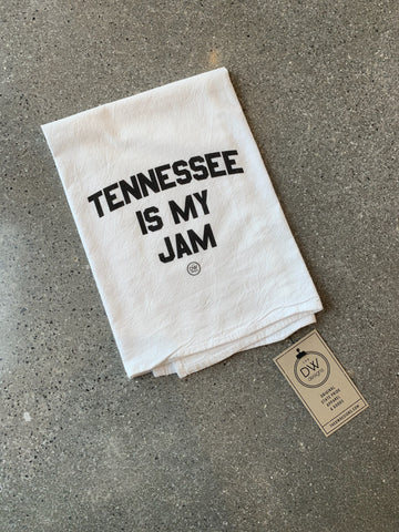 The Tennessee is my Jam Tea Towel (20 x 20)