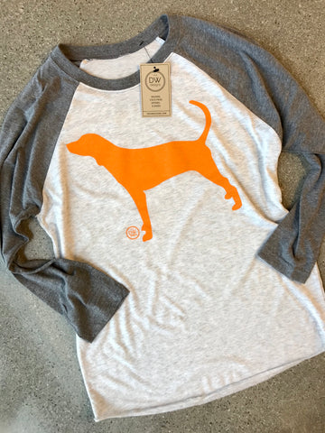 The Hound Dog Raglan