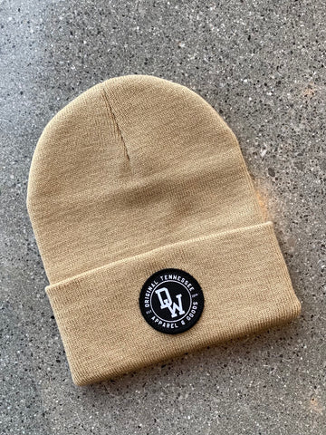 The DW Circle Beanie - Camel