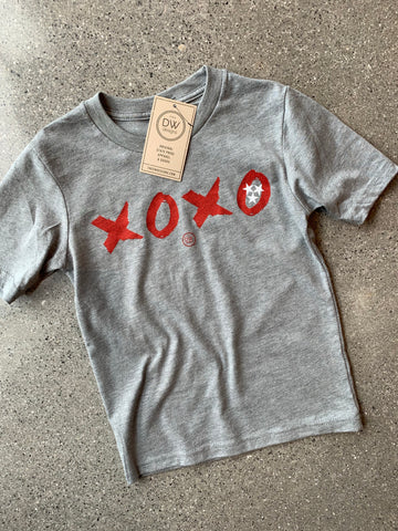 The XOXO TN Kids Tee - Grey