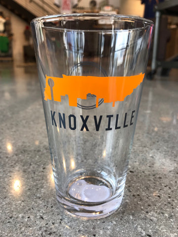 The Knox Skyline Pint Glass