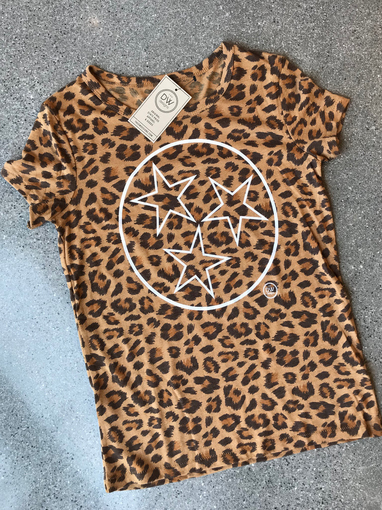 The Tristar Outline Women's Leopard Tee