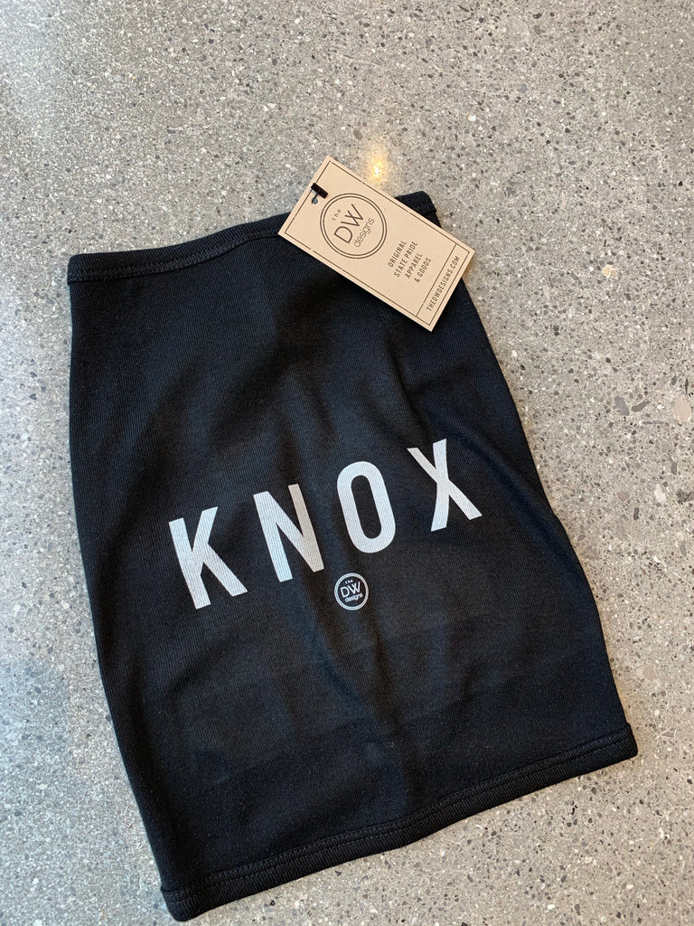 The Knox Dog Tee - Black