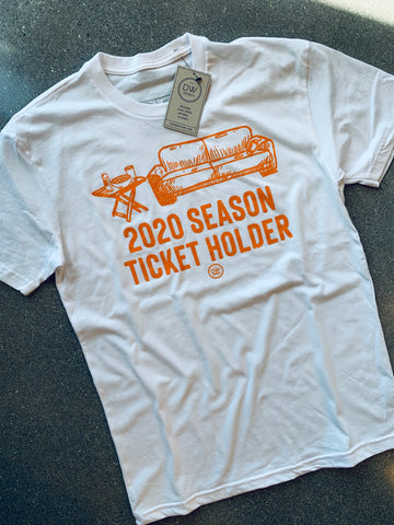 The 2020 Season Ticket Tee - White