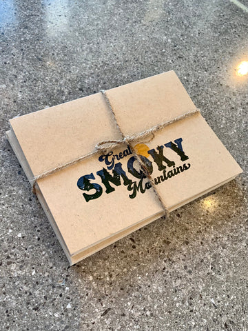 The Vintage Smoky Mtn Note Cards