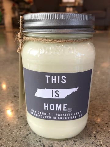 The This is Home Mason Jar Candle