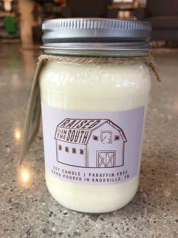 The Raised in the South Mason Jar Candle