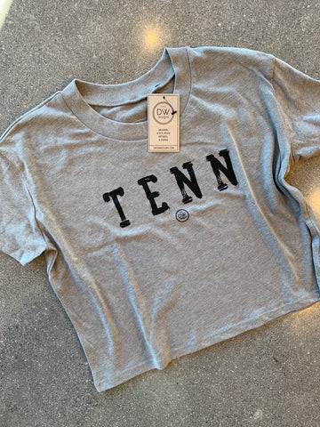 The TENN Stamp Women's Crop Top