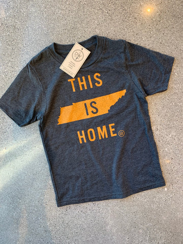 The This is Home Kids' Tee - Charcoal