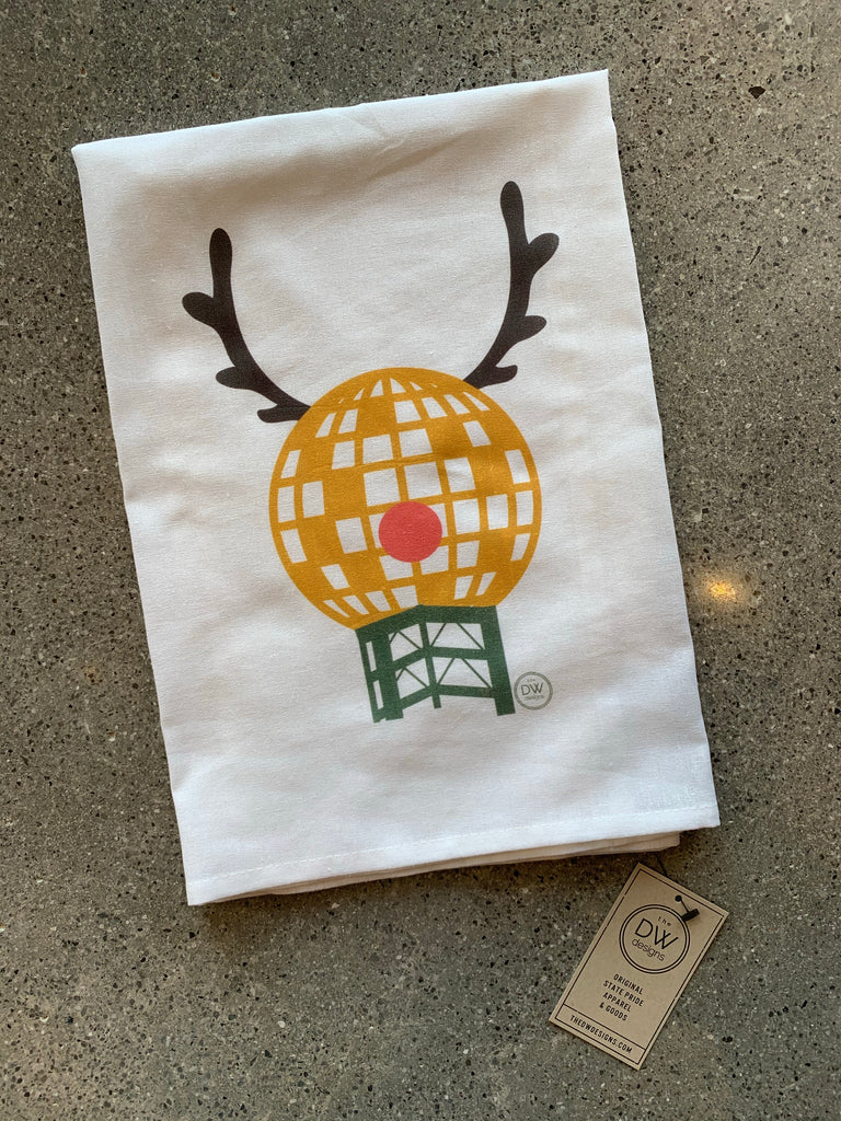 The SunDeer Christmas Tea Towel (28 x 29)
