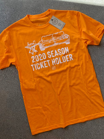 The 2020 Season Ticket Tee - Orange