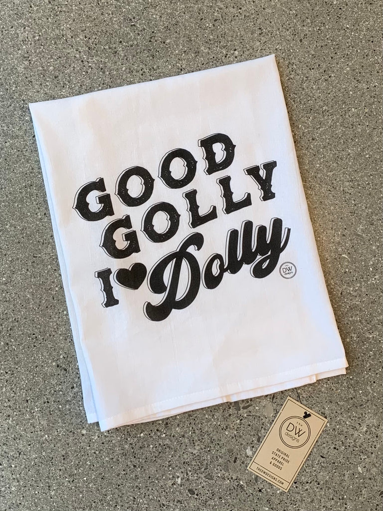 The Golly Dolly Tea Towel (28 x 29)
