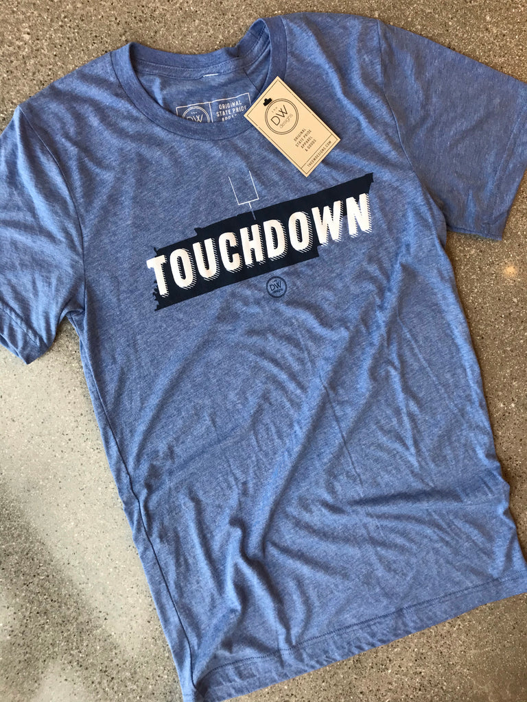 The Touchdown Tee - Blue