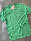 The Minimal Tristar Bear Tee - Green