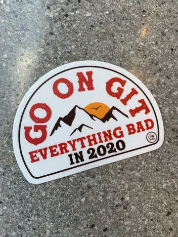 The Go on Git 2020 Sticker